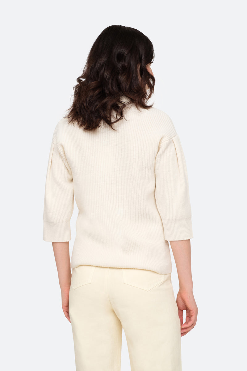 Cream-Nadene Sweater-Back View 2