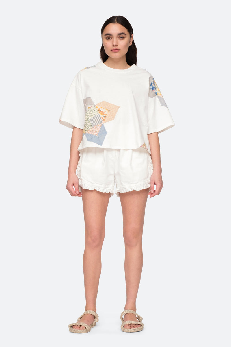 Multi - Paloma T-Shirt Full Body View 4
