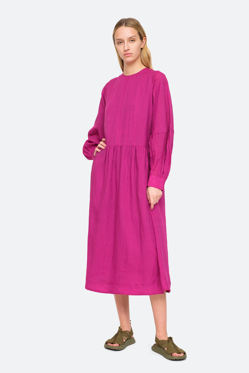 Amethyst - Geneva Midi Dress Front View 5