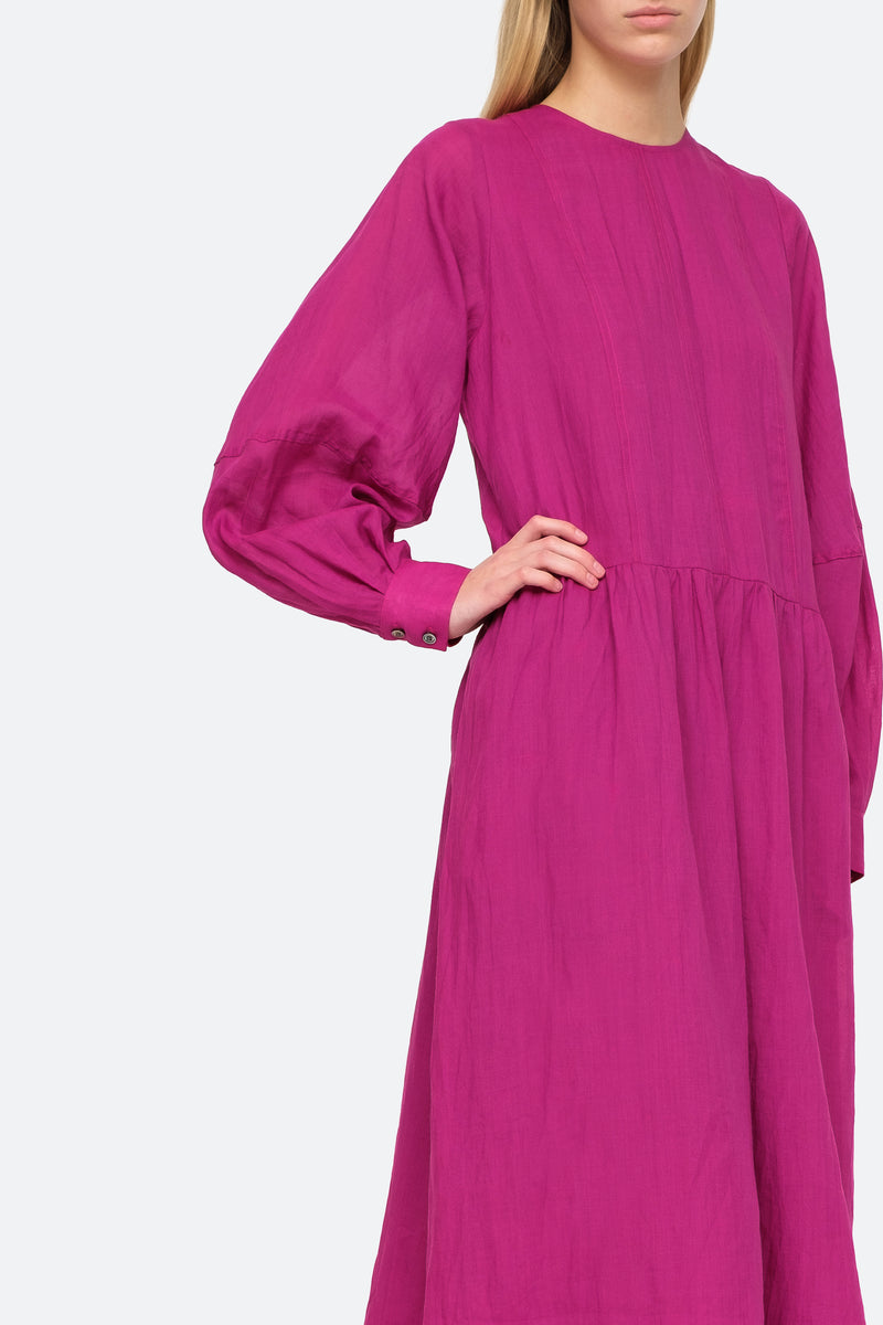 Amethyst - Geneva Midi Dress Close View 8