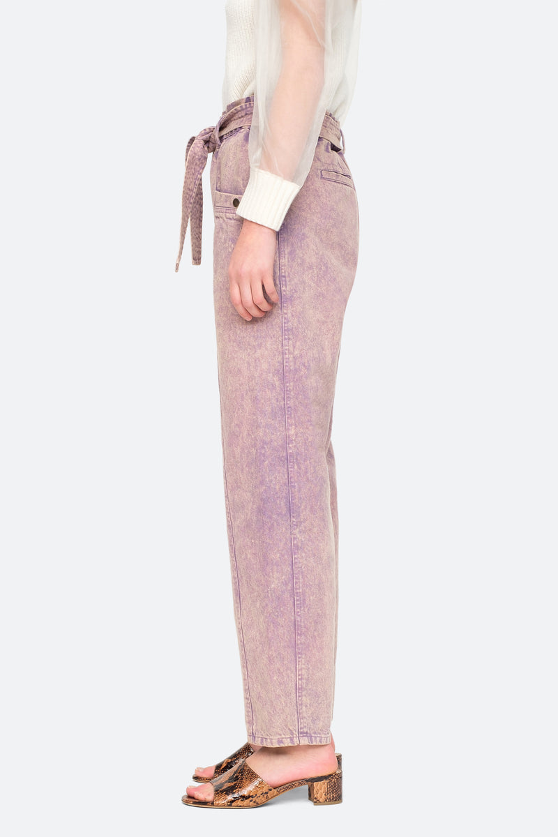 Lilac - Idun Pants Side View 3