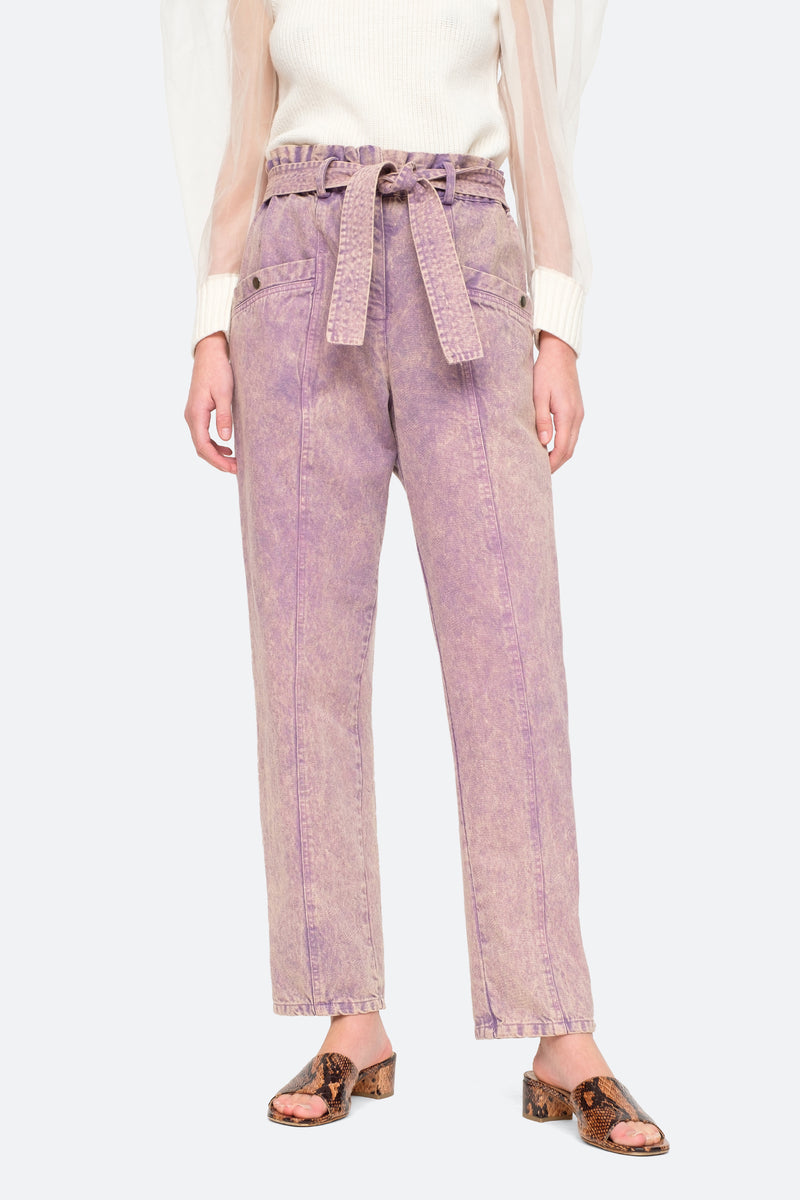 Lilac - Idun Pants Front View 1