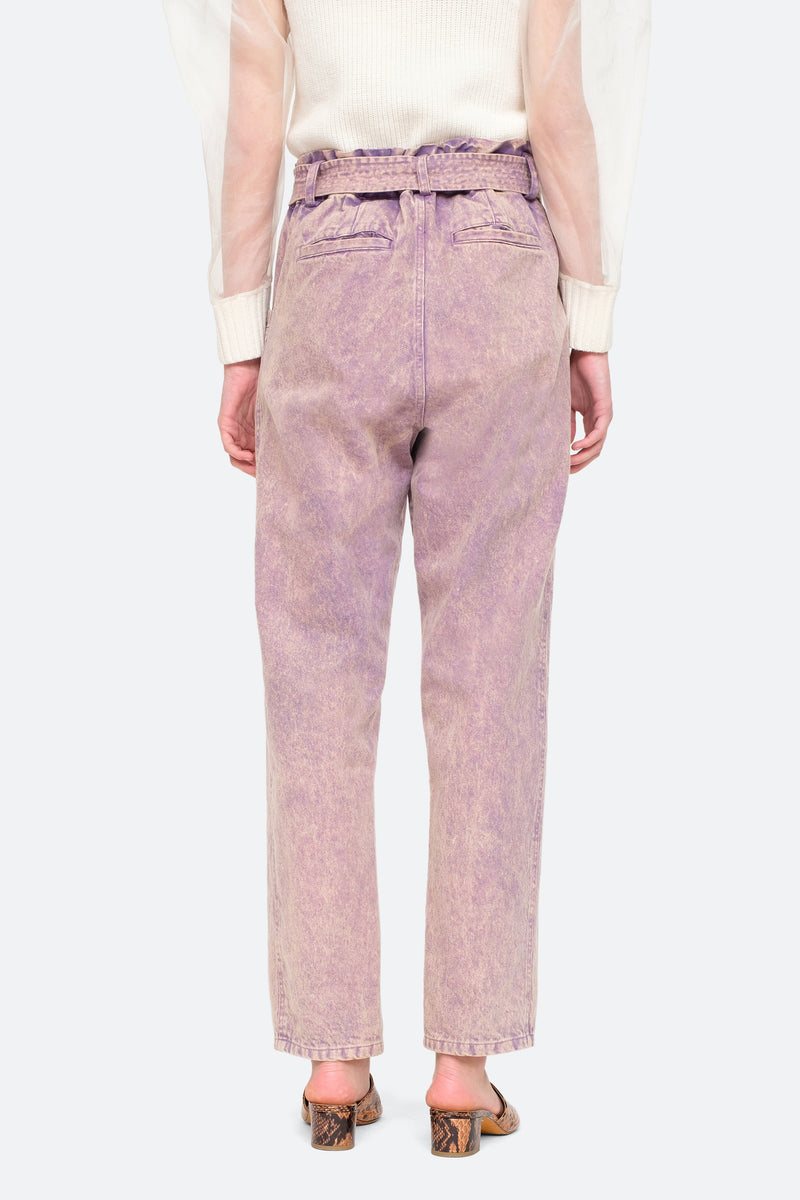 Lilac - Idun Pants Back View 4
