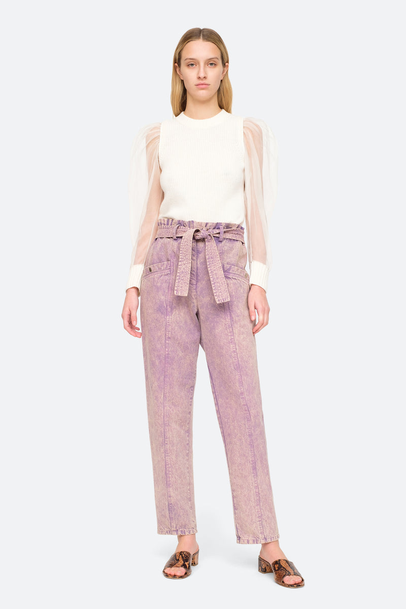 Lilac - Idun Pants Full Body View 2
