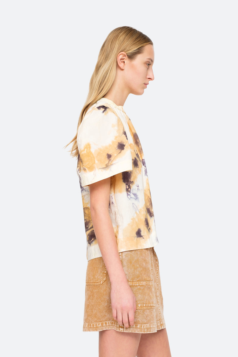 Camel - Tamara S/S Top Side View 3