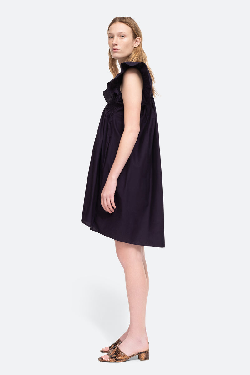 navy-gladys tunic-side view 3