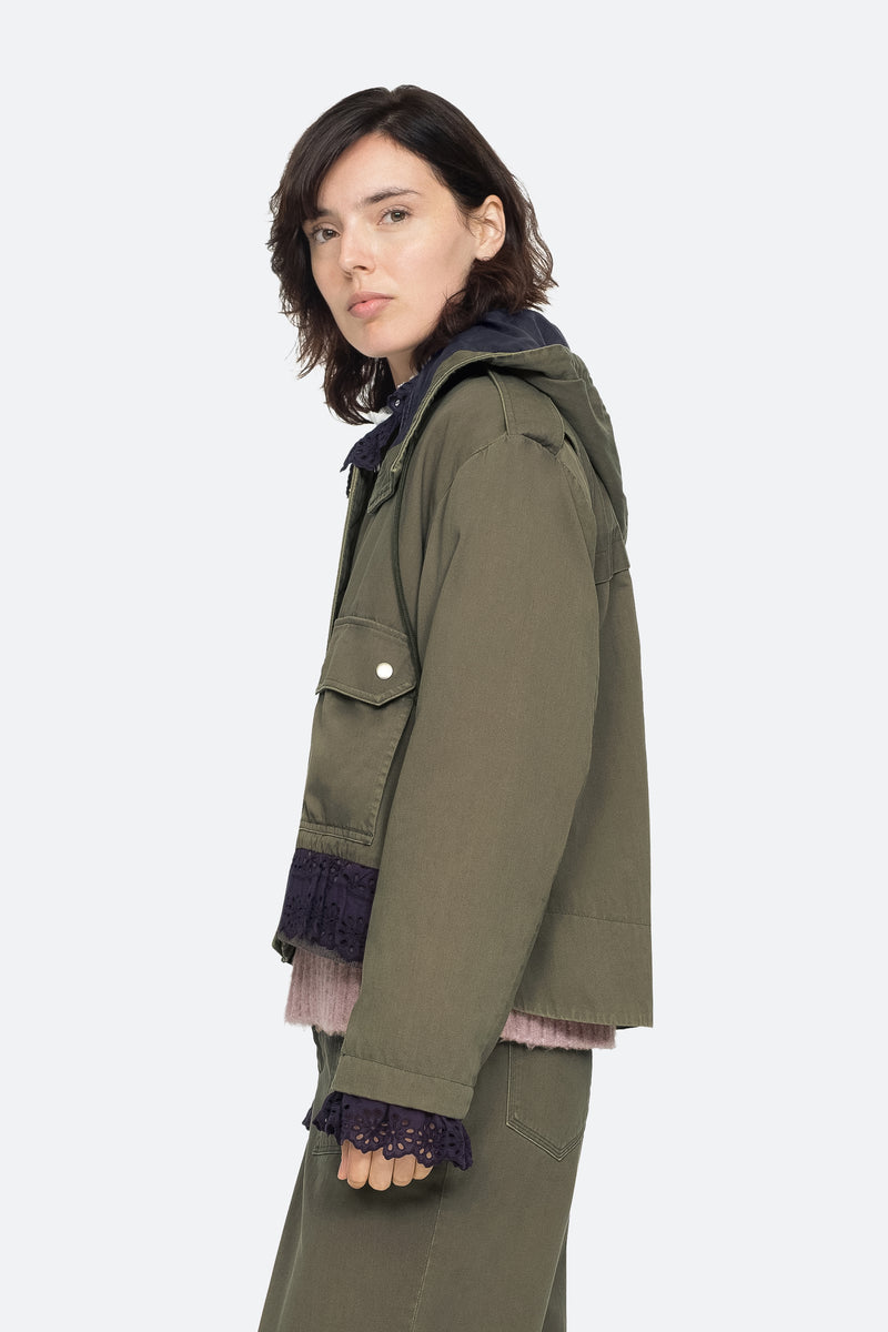 Army - Adalene Jacket Side View 3