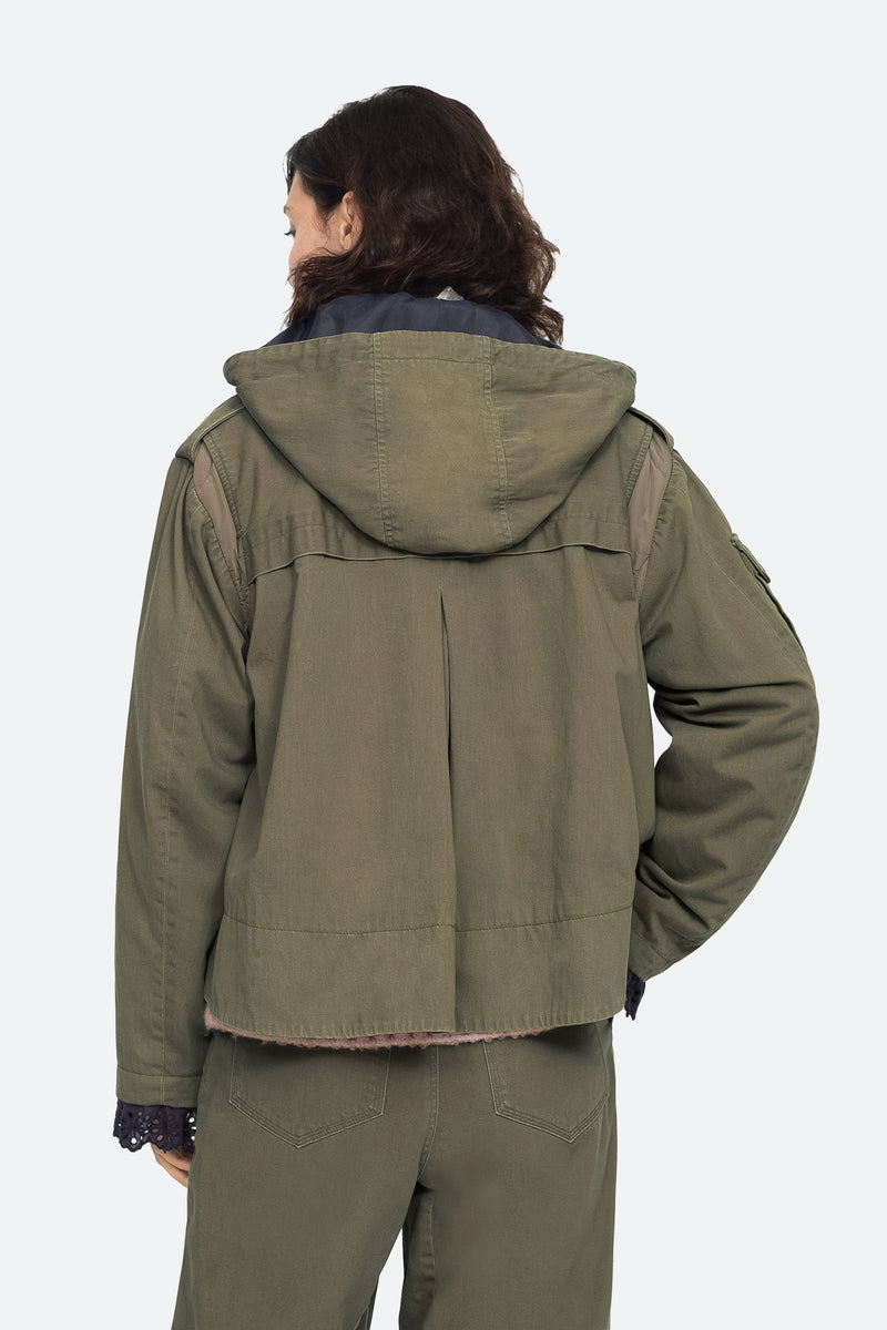Army - Adalene Jacket Back View 4