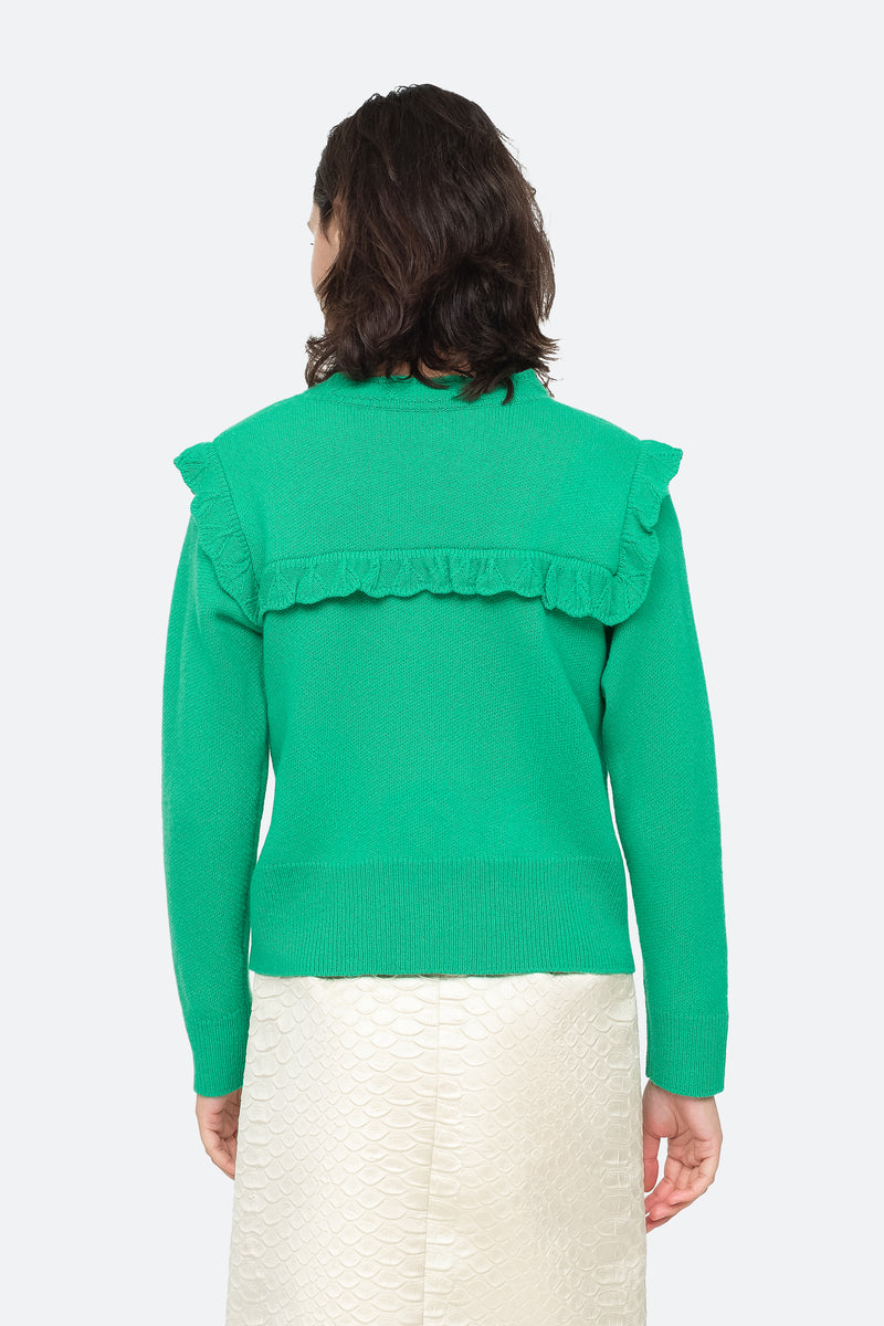 Emerald - Caroline Sweater Back View 2