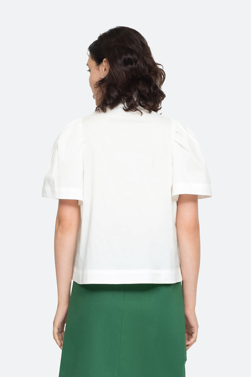 White - Clara Top Back View 6