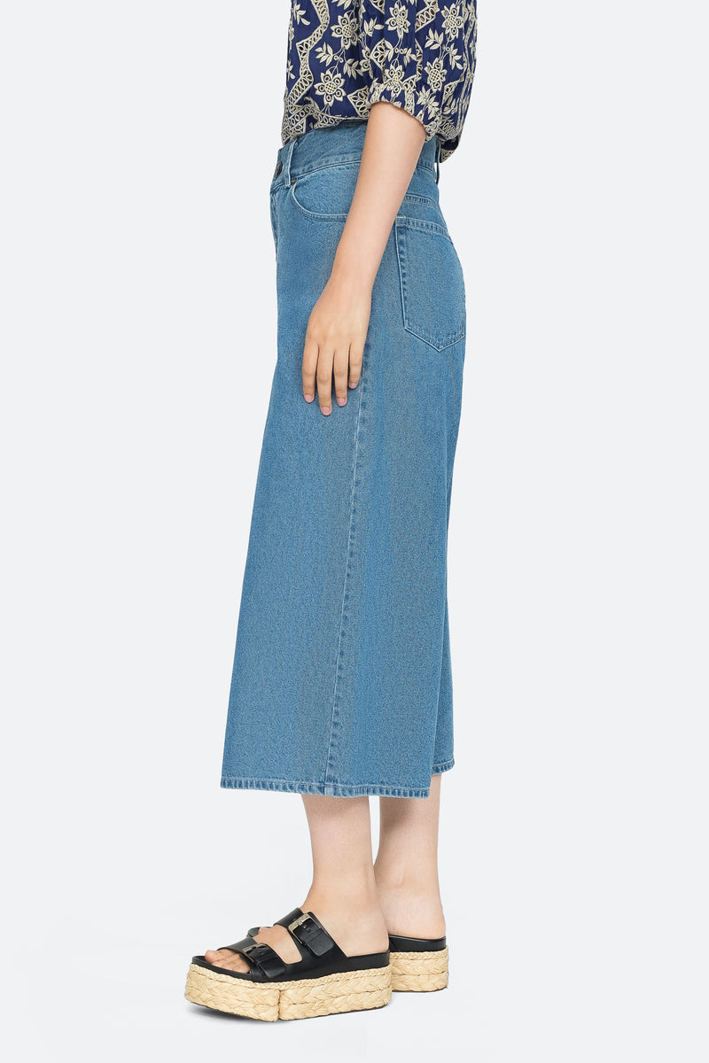 Indigo - Doreen Culotte Side View 4