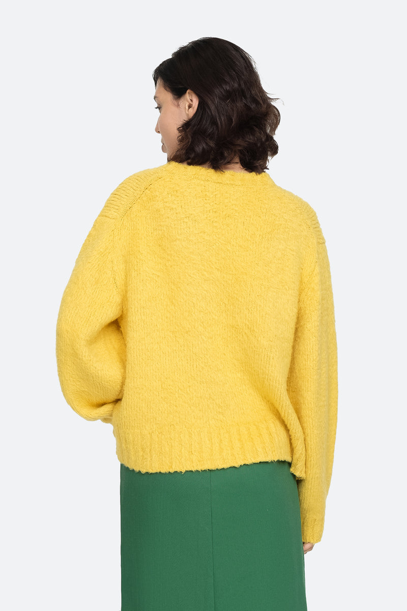 Yellow - Fae Sweater Back View 2