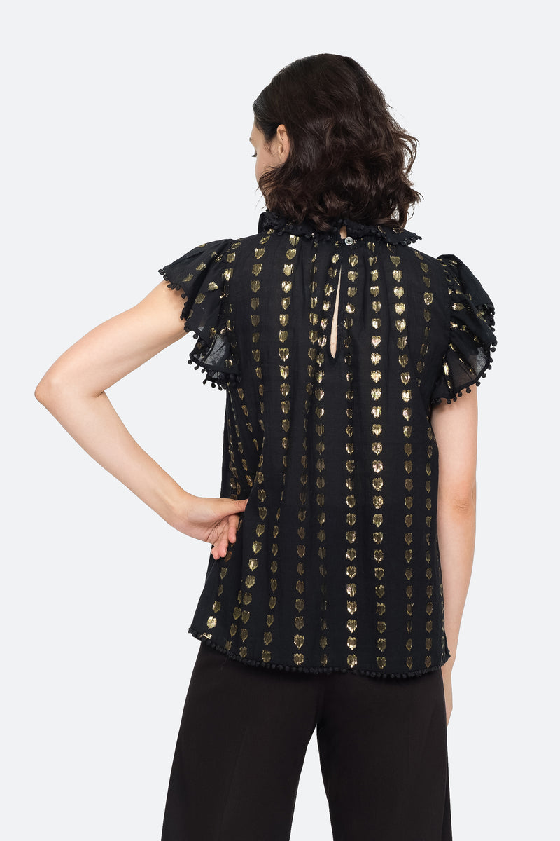 Black - Laura Tank Back View 2