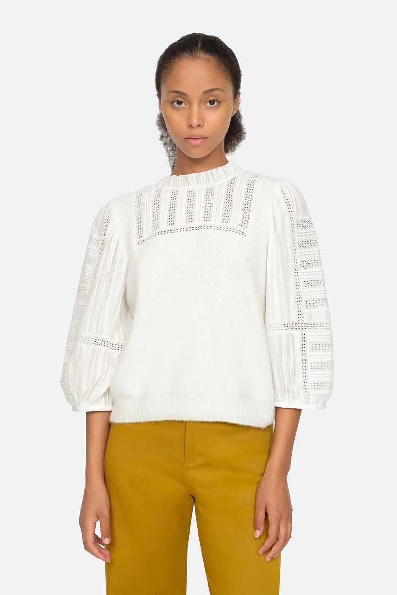 Cream - Pascale Sweater Front View 1