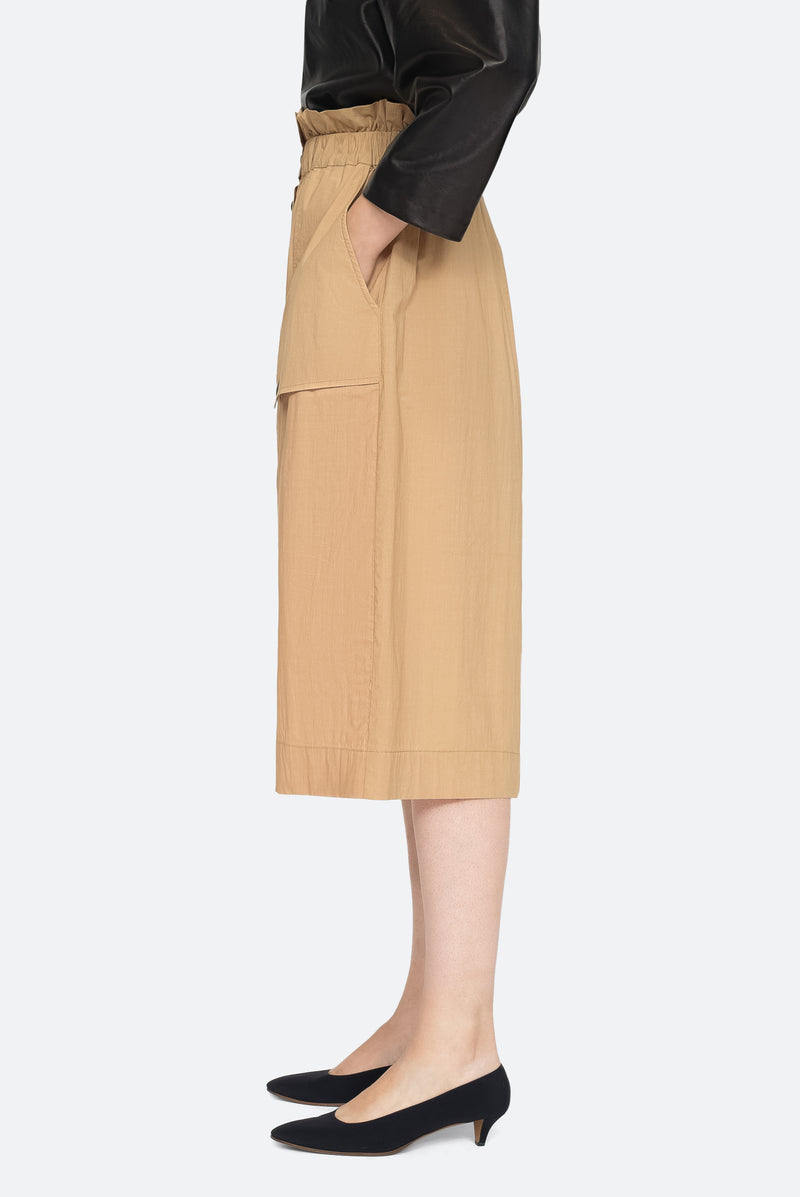 Khaki - Scott Skirt Side View 4