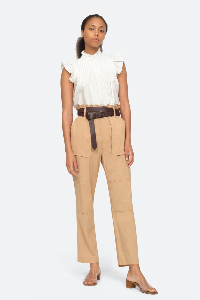 Khaki - Scott Pant Full Body View 2