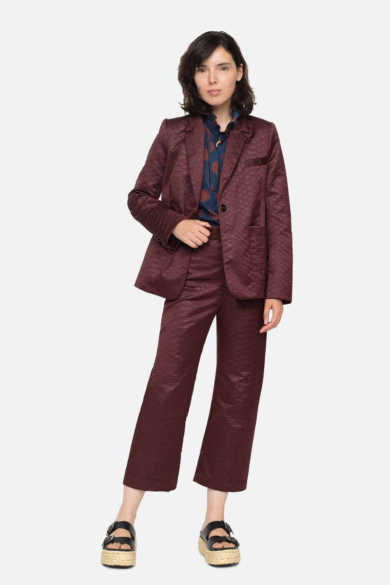 Burgundy - Simon Pant Full Body View 2