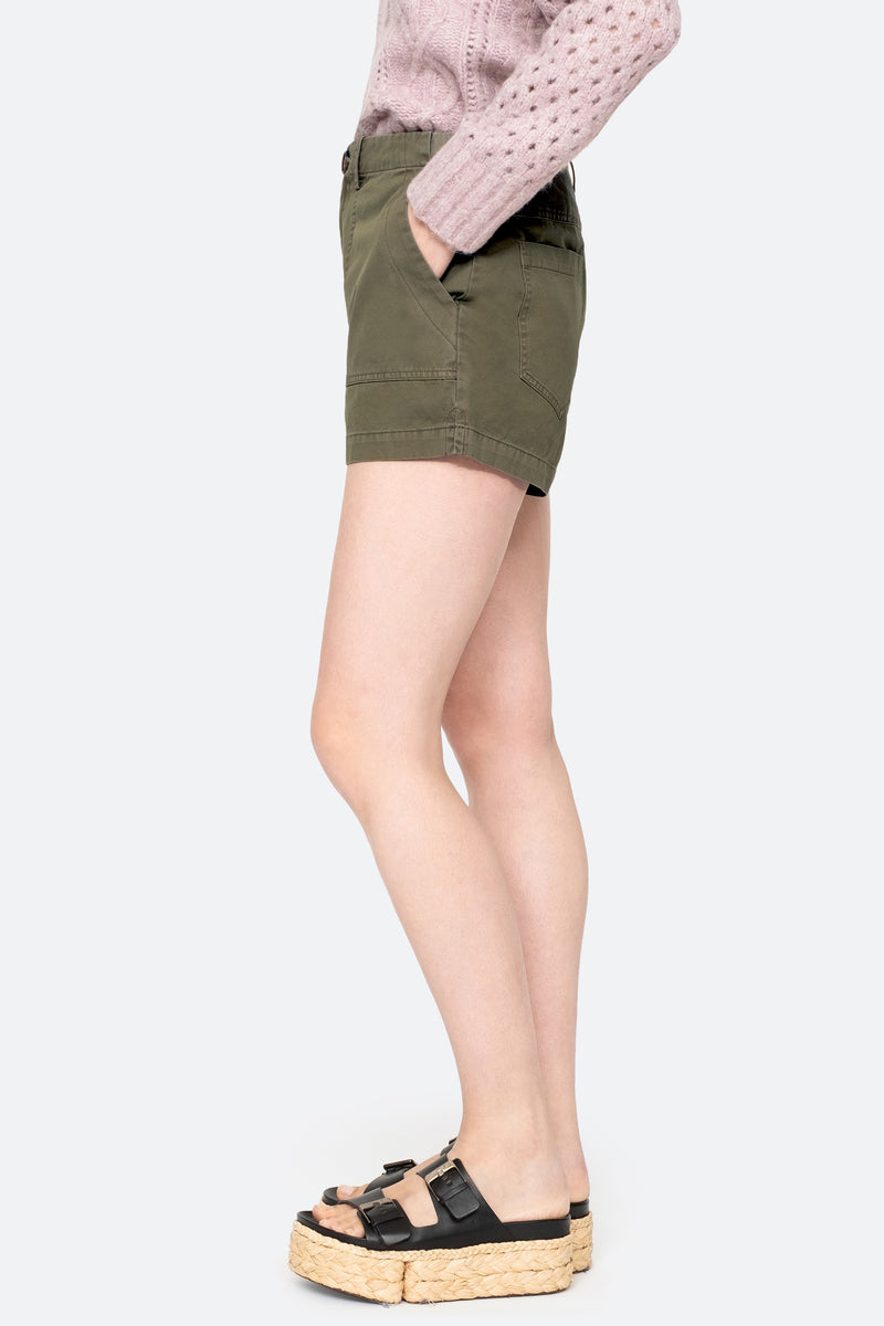 Army - Adalene Shorts Side View 4