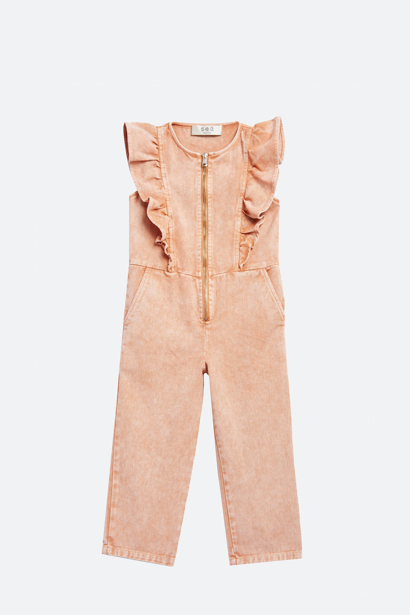Rose-Hildur Kids Jumpsuit-Flat View 2
