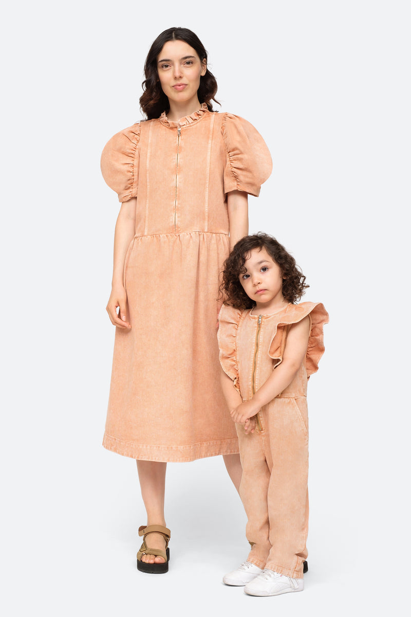 Rose-Hildur Kids Jumpsuit-Model View 4
