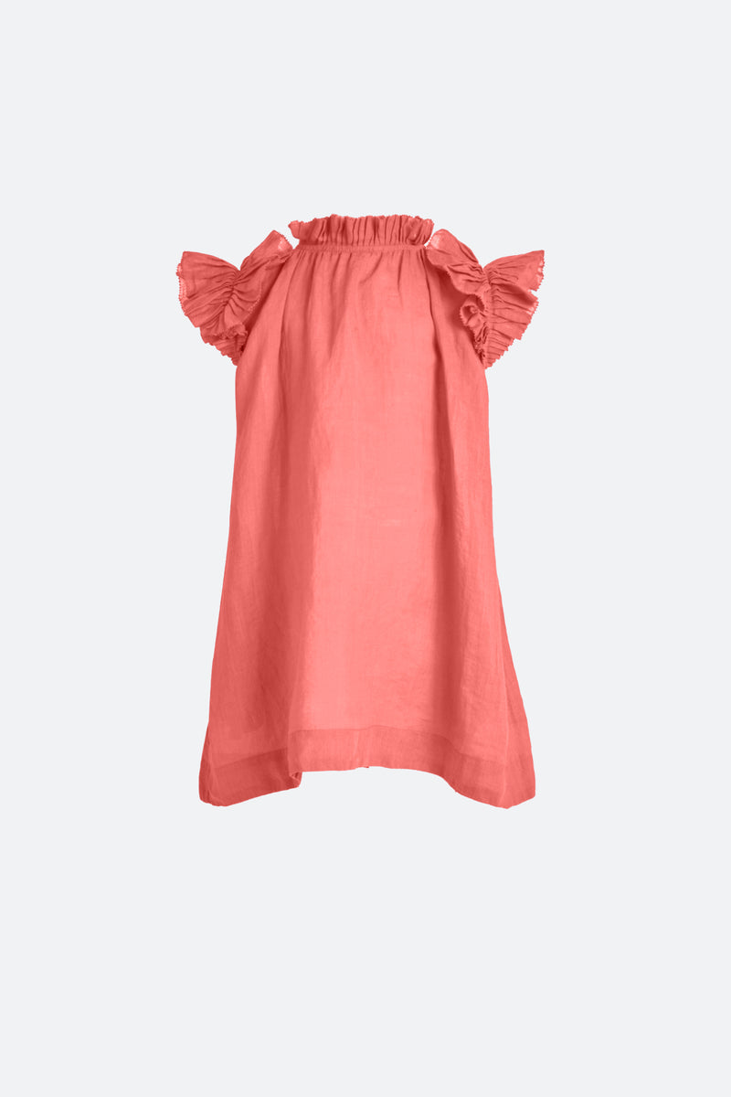 Berry-Hattie Kids Dress-Flat View 1