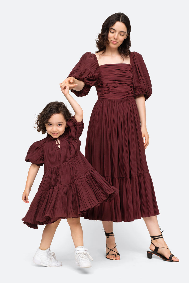 Mahogany-Nadja Kids Dress-Model View 2