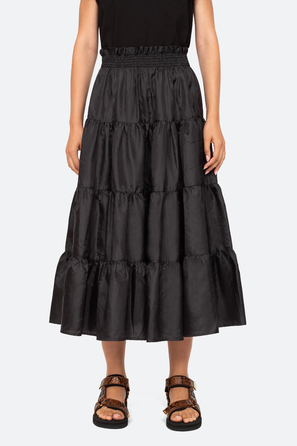 Nadja Pleat Skirt