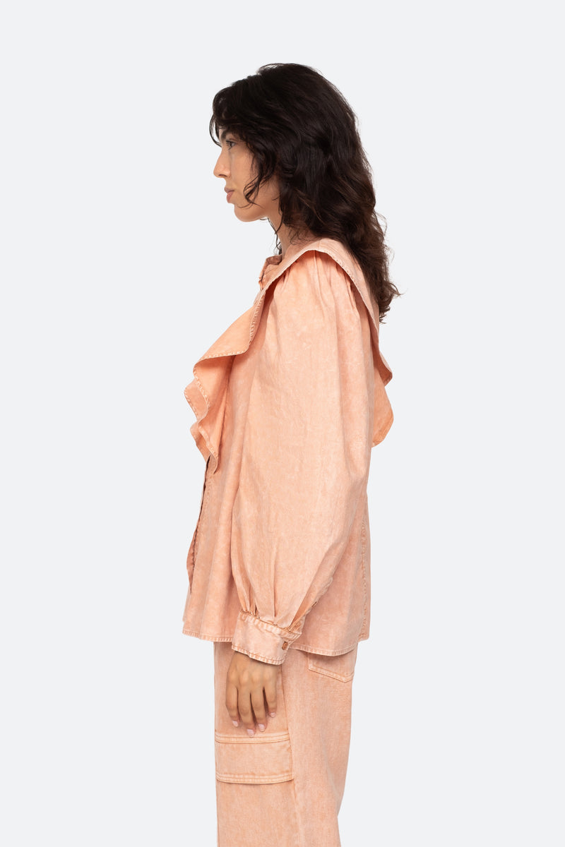 Rose-Hildur Blouse-Side View 3