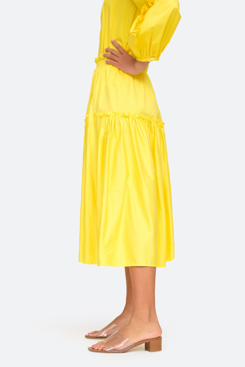 Citron - Tabitha Skirt Side View  8