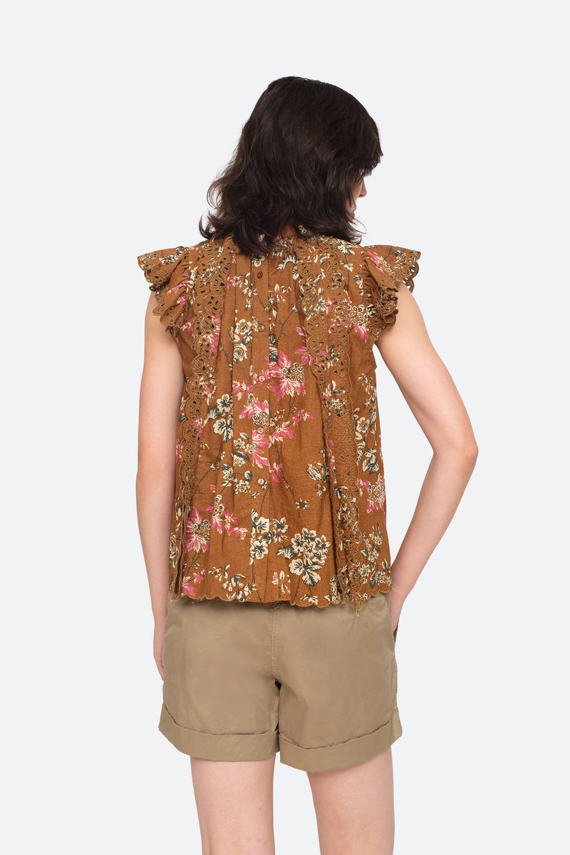 Ochre - Thea Top Back View 2