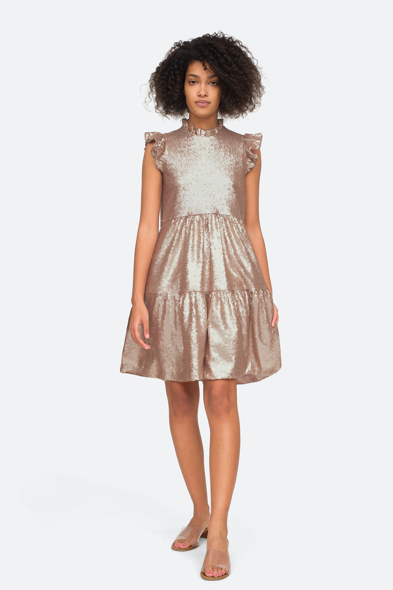 Rosegold - Selina Dress Front View 1