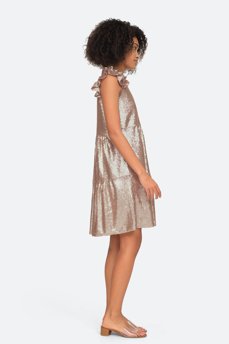 Rosegold - Selina Dress Side View 3