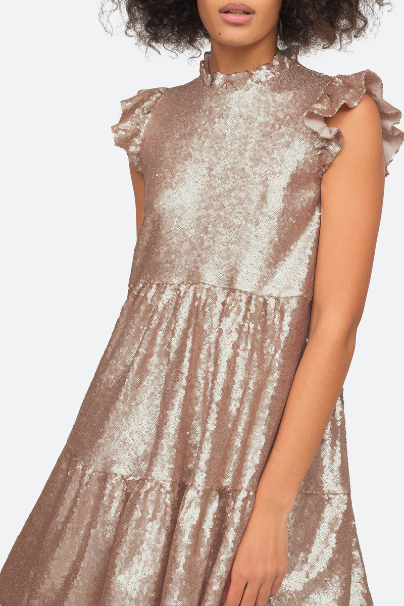Rosegold - Selina Dress Close View 4