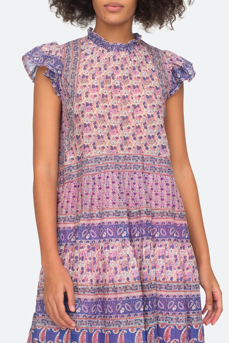 Violet - Bianca Tunic Close View 4