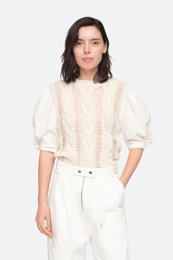 Clarise Combo Sweater