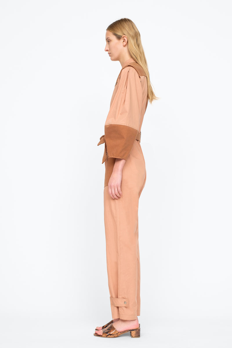 Clay - Gabriette Jumpsuit Side View 7