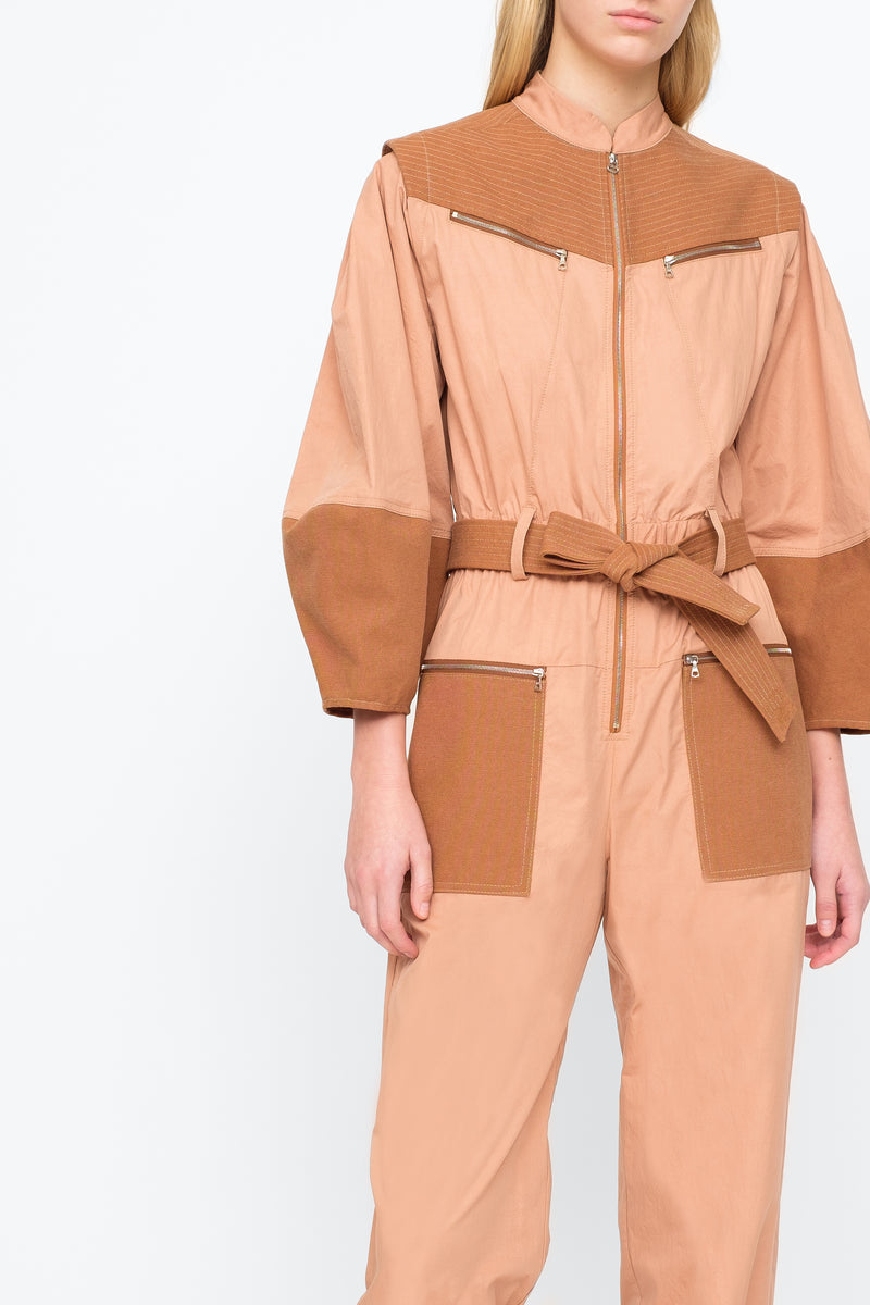 Clay - Gabriette Jumpsuit Close View 8