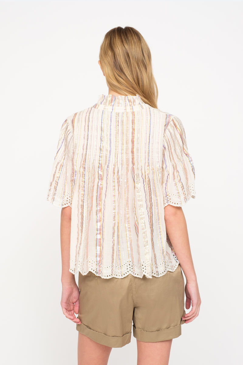 Multi - Harriet Top Back View 2