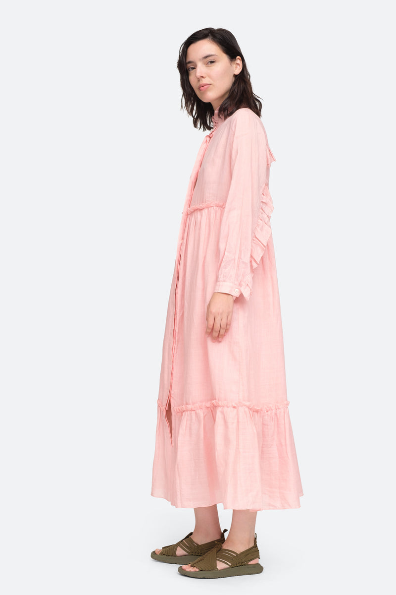 Bloom - Lucy Maxi Dress Side View 10