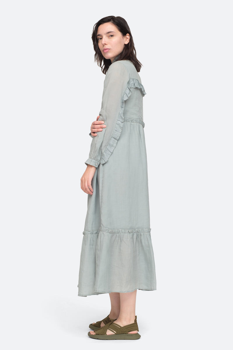 Seamoss - Lucy Maxi Dress Side View 5