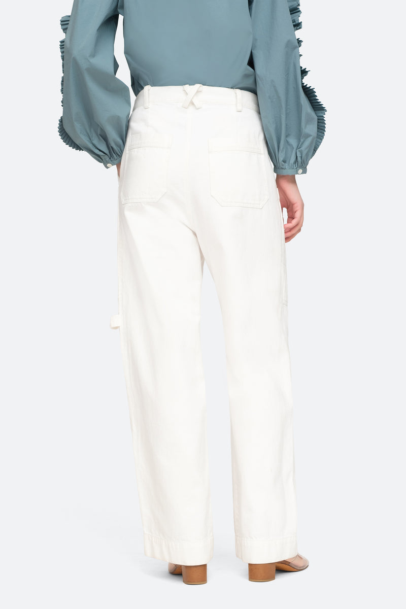 White - Mara Pants Back View 8