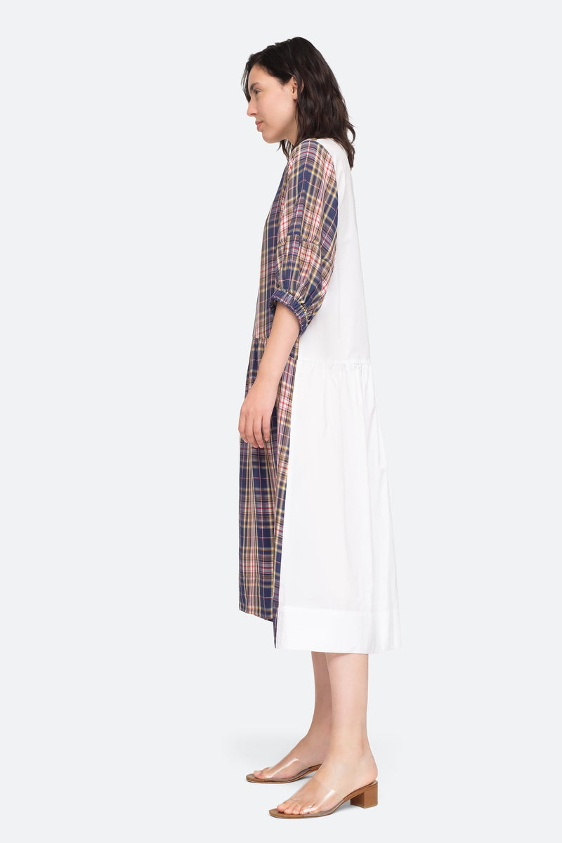 Plaid - Rooney Dress Side View 3