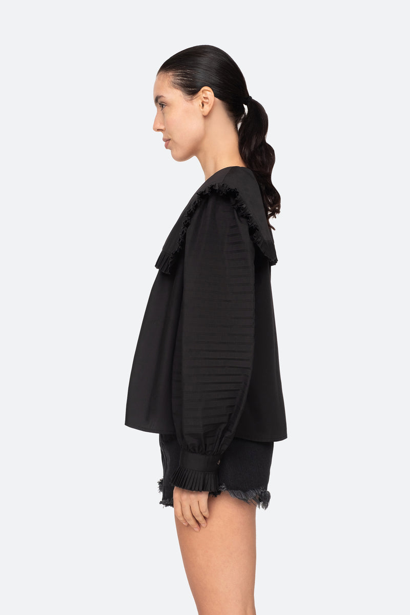 Black-Charlie Blouse-Side View 3