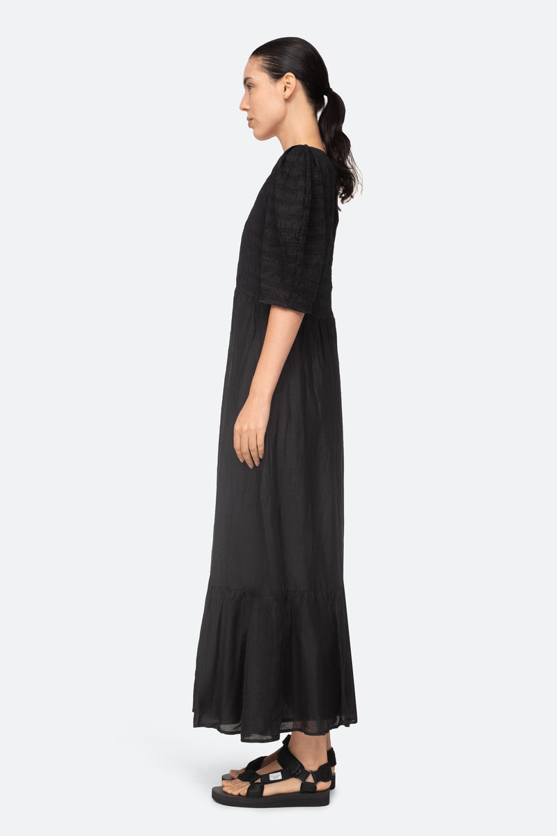 Black-Eleanor Dress-Side View 6