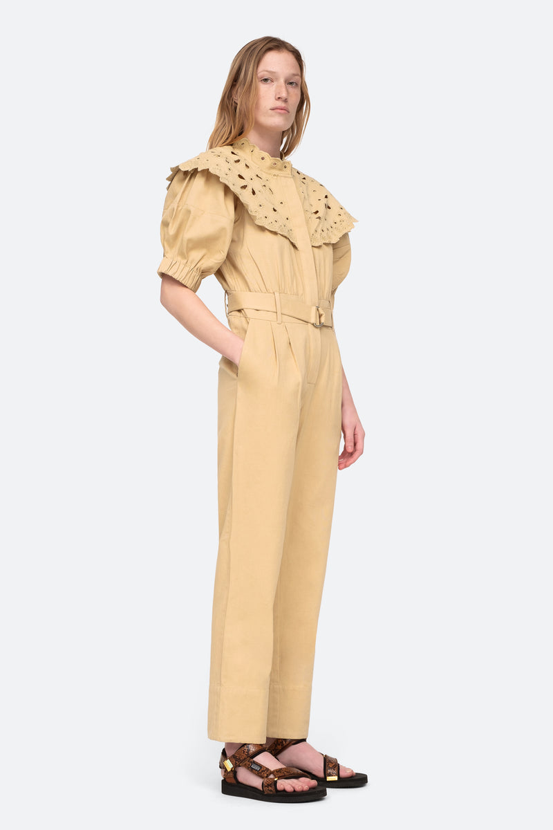 Camel-Hazel Jumpsuit-Side View 5