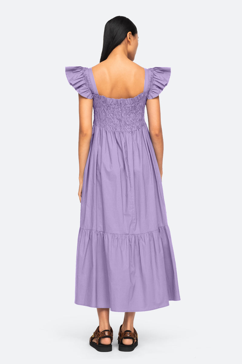 Lilac-Varsha Dress-Back View 8