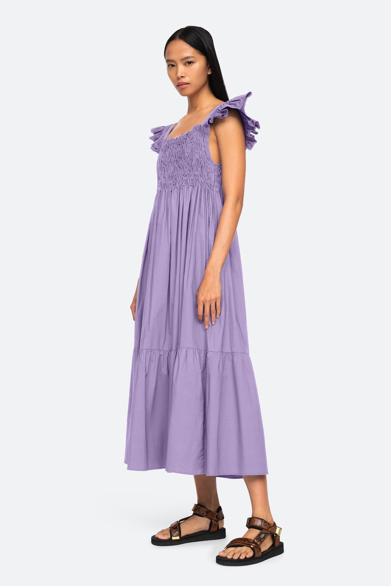 Lilac-Varsha Dress-Side View 9