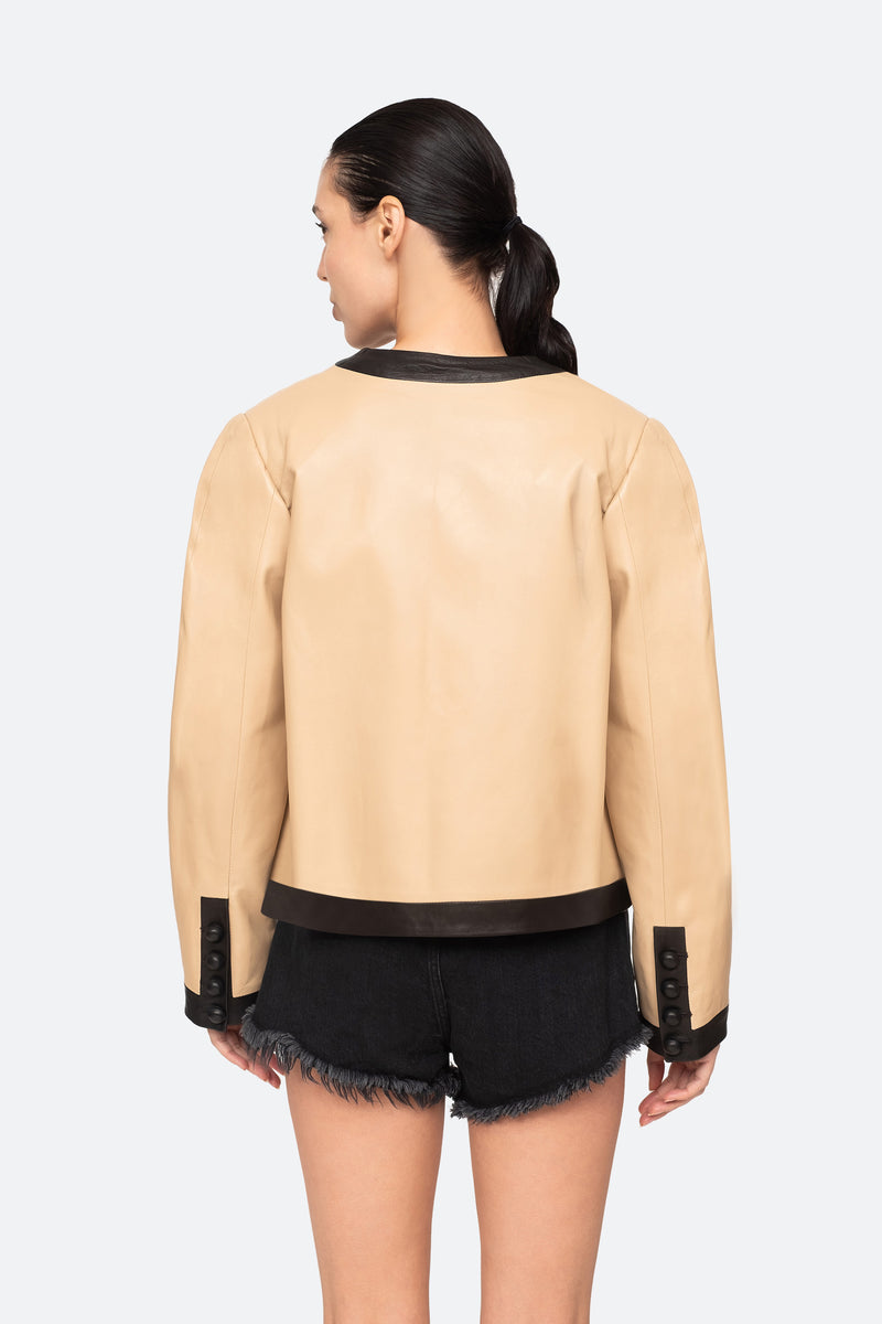Camel-Veronica Jacket-Back View 2