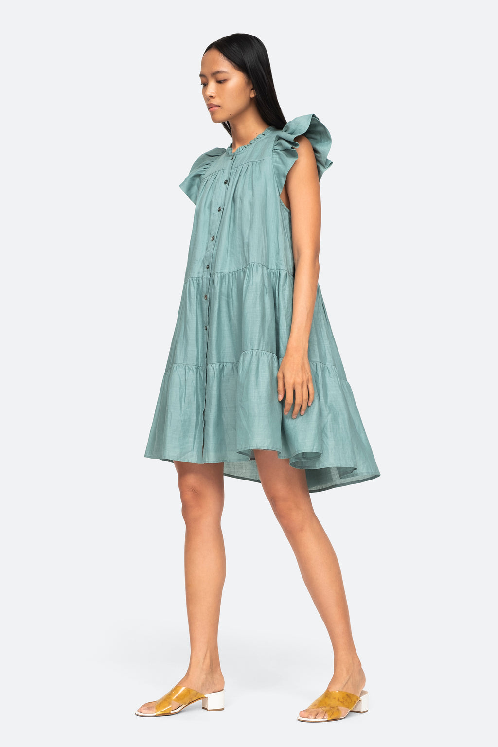 Nadja Pleat Dress