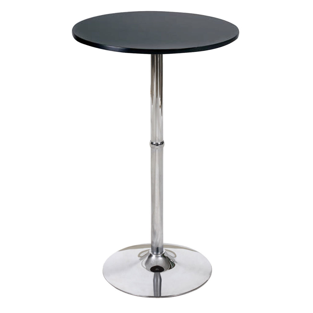 Astounding Bromi Design Bf2510Bl Madison Black Bar Table Caraccident5 Cool Chair Designs And Ideas Caraccident5Info